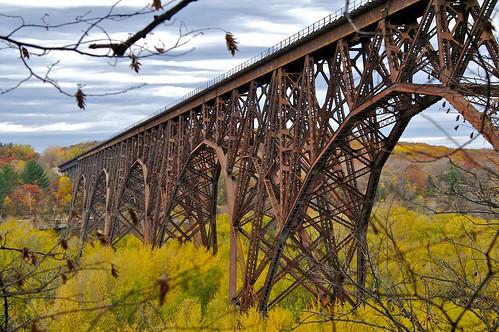 Rail Road Bridge over St. Croix River