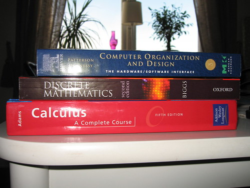 The books for this period