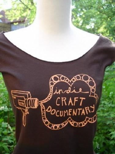Indie Craft Documentary t-shirt