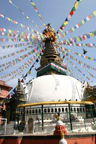 Stupa in Kathmandu...