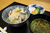 秋刀魚炊き込みご飯 分とく山 新宿店