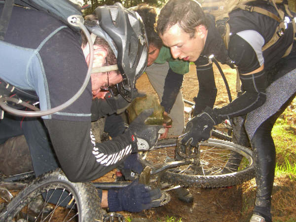 How many architects/designers/engineers does it take to fix a bike? All of them.