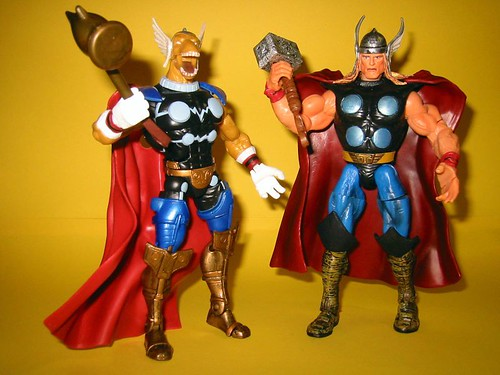 Beta Ray Bill and Thor