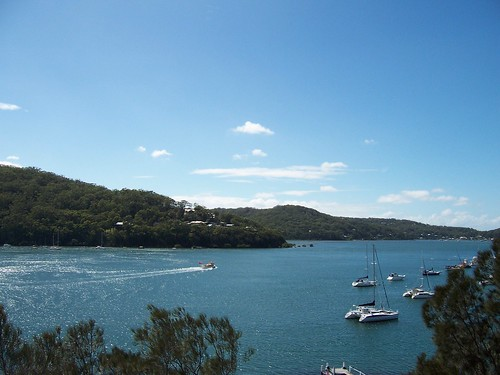 Fishermans Bay & Hardys Bay from The Rip Bridge