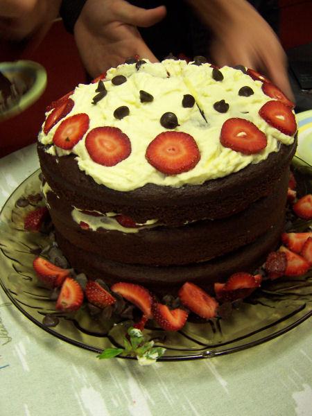 senior dinner cake