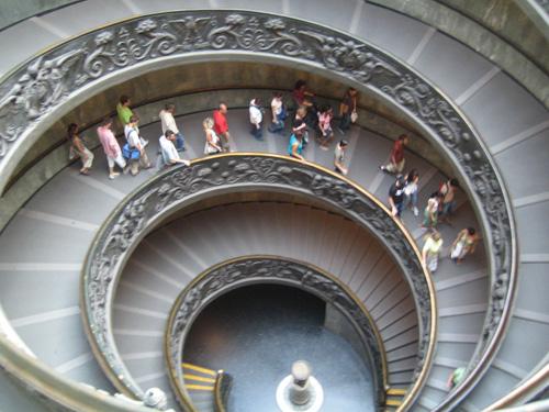 米開朗基羅設計的螺旋樓梯