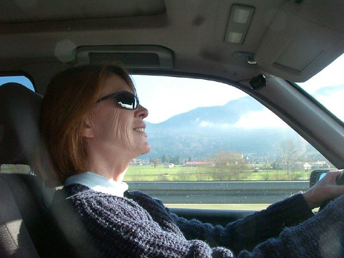 Image 20 Driving to Garmisch
