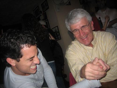 stat boy arm wrestling my dad