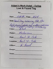 lost and found tag