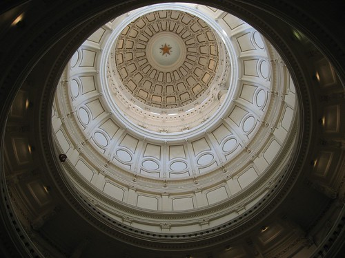Beautiful Texas Legislature dome