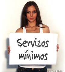 servizos minimos