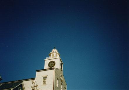 NATURAさんとTDS 教会の空