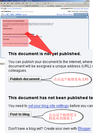 Publish Docs