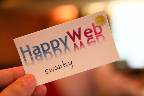 HappyWeb名牌