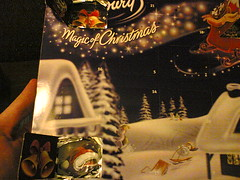 Dairy Milk Advent Calendar picture repitition