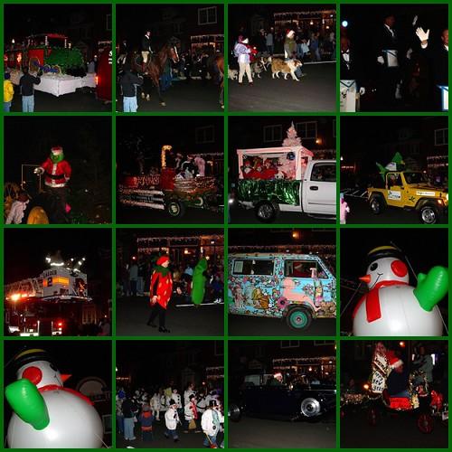Lewes Christmas parade