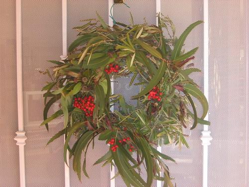 alternative Christmas wreath