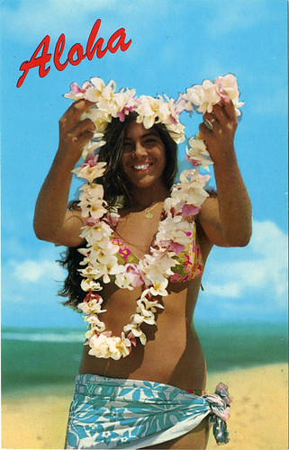 Postcard: Aloha