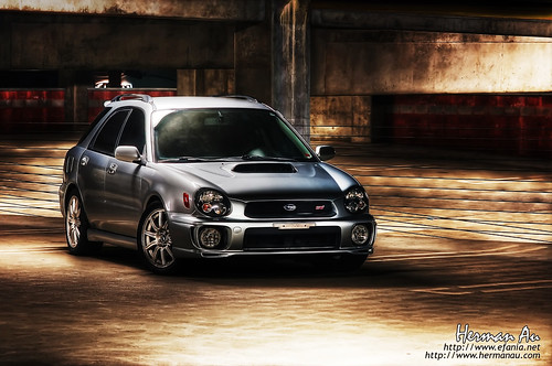 HDR WRX STi Wagon (by hermanau)