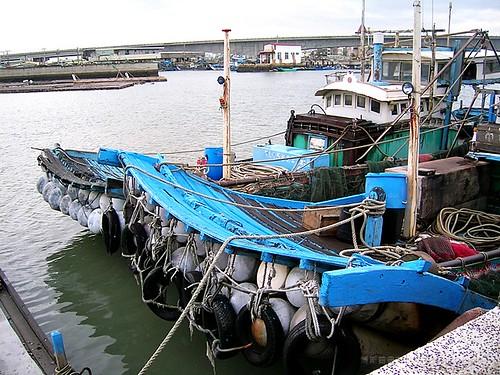 布袋港 - 漁筏