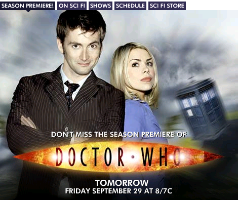 Doctor Who series 2 on SciFi