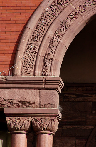Old City Hall detail