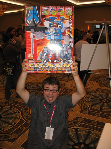 Botcon - Sunday - Behold! A Holy Grail Item Attained!!!