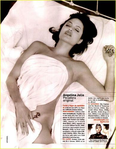 Angelina jolie sex scandal