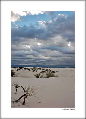 White Sands morning B