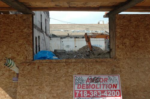 Demolition Voyeurism