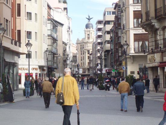 El blog de la ciudad de valladolid calle santiago - Carpinteros en valladolid ...
