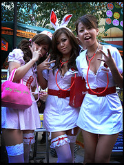 Nurses on Call : Kawasaki-Halloween 2006 photo by Danz in Tokyo