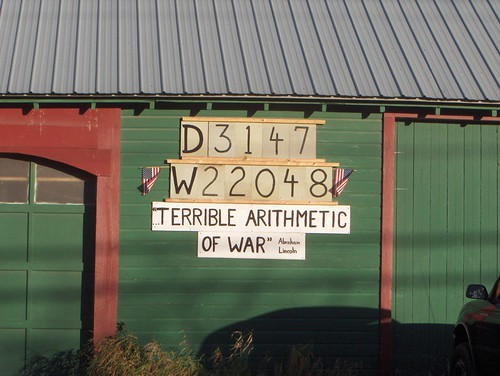Terrible Arithmetic of War
