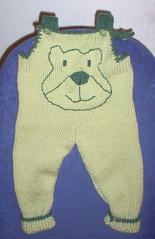 Vauvan haalarit Novita Woolista (60 cm)