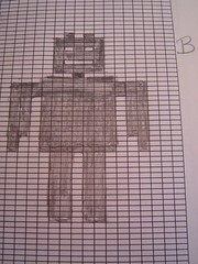 robot pattern B