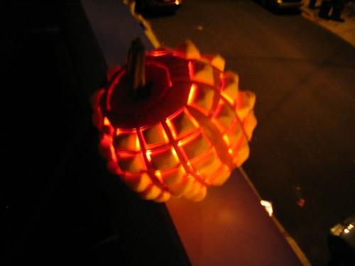Heavy metal pumpkin carving