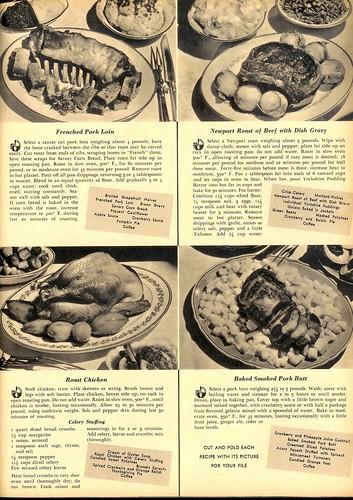 6 Thanksgiving Dinners 1939b