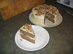 Maple-Pecan Layer Cake