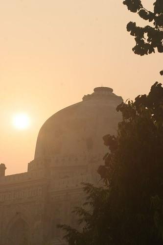 IMG_0301 Sunrise in Lodhi Gardens (2) 5th Nov 06