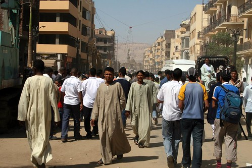 Crowds in Luxor