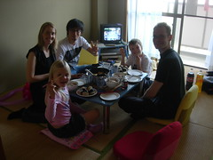 Ragga and Hiroki over for dinner :-D