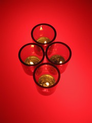 Circles of Light (red)