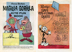 Magilla Gorilla Kite Fun Book
