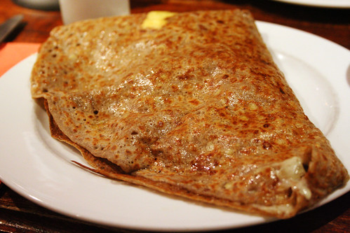 potato, cheese and onion galette