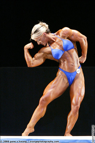 Kris Murell at The 2006 Women's NPC Championships