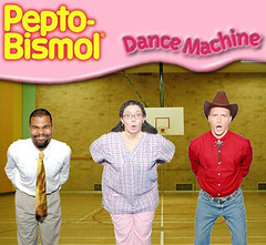 Pepto-Bismol Dance Machine!