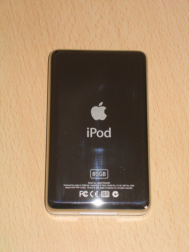 5th generation iPod 80GB with video