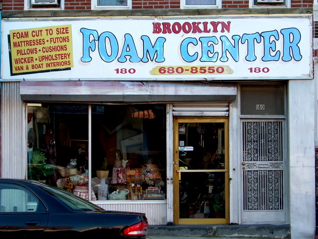 foam center, bay ridge