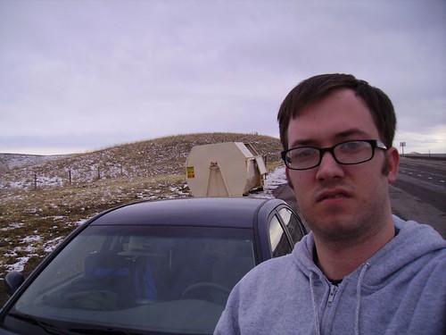Self-Portrait in Wyoming