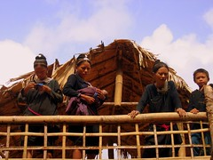 Women in a Lanten village - Nam Ha River